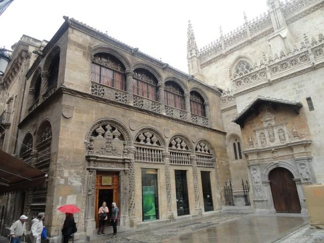 снимка на кралският параклис в Гранада