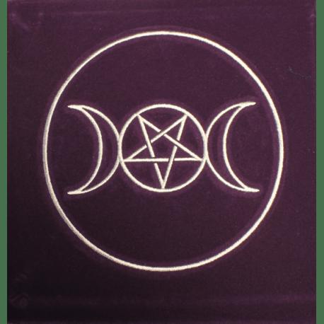 tapis de divination symbole paien espace aether