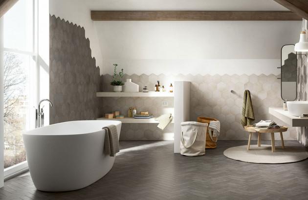 carrelage pour une salle de bain zen
