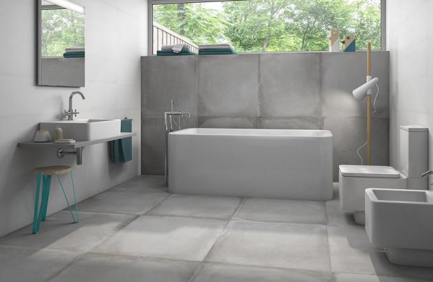 carrelage effet beton pour un style