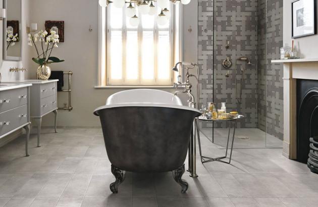 comment creer une salle de bain vintage