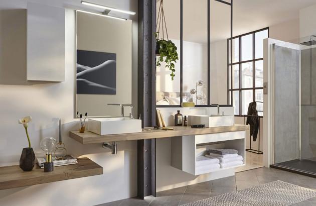 meuble salle de bain suspendu comment
