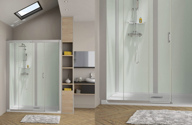 types de cabines de douche