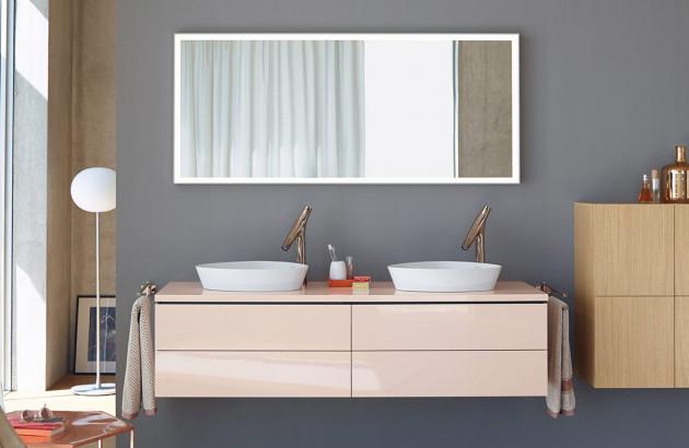 Meuble Double Vasque Plus Pratique Plus De Rangement Espace Aubade