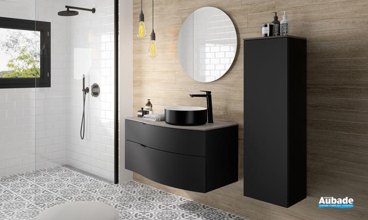meuble de salle de bains stiletto par decotec