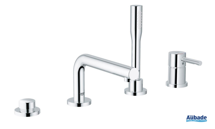 robinets pour baignoire grohe essence spa colors
