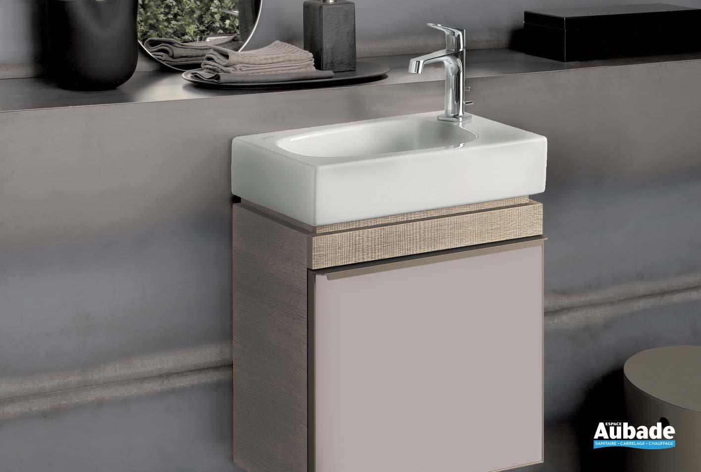 lave mains et meuble geberit espace
