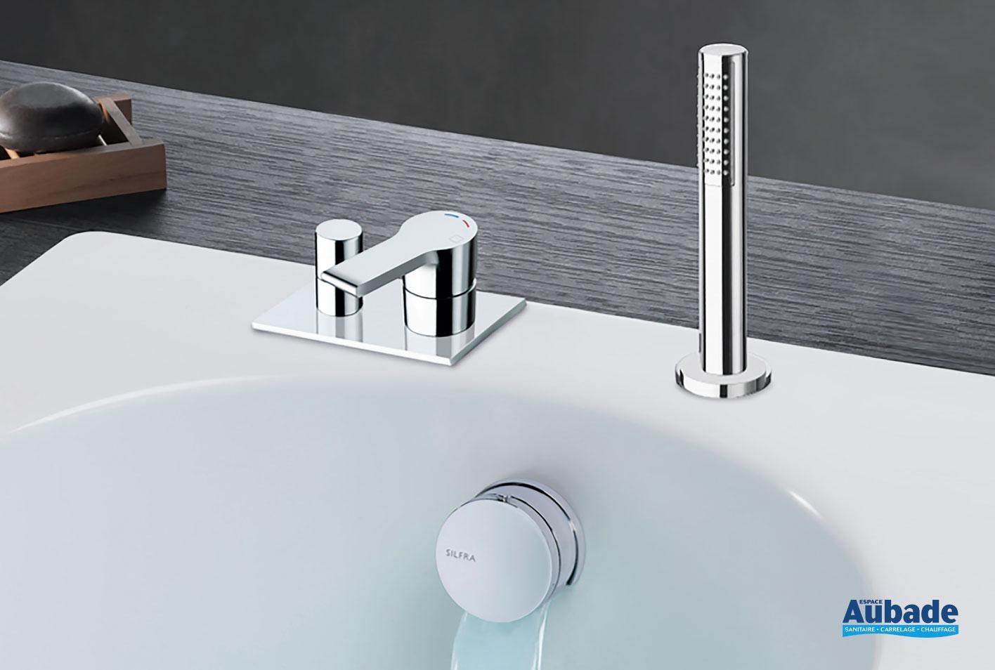 robinetterie bain douche encastree delta de cristina