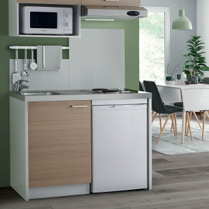 meuble sous evier cuisine 2 portes