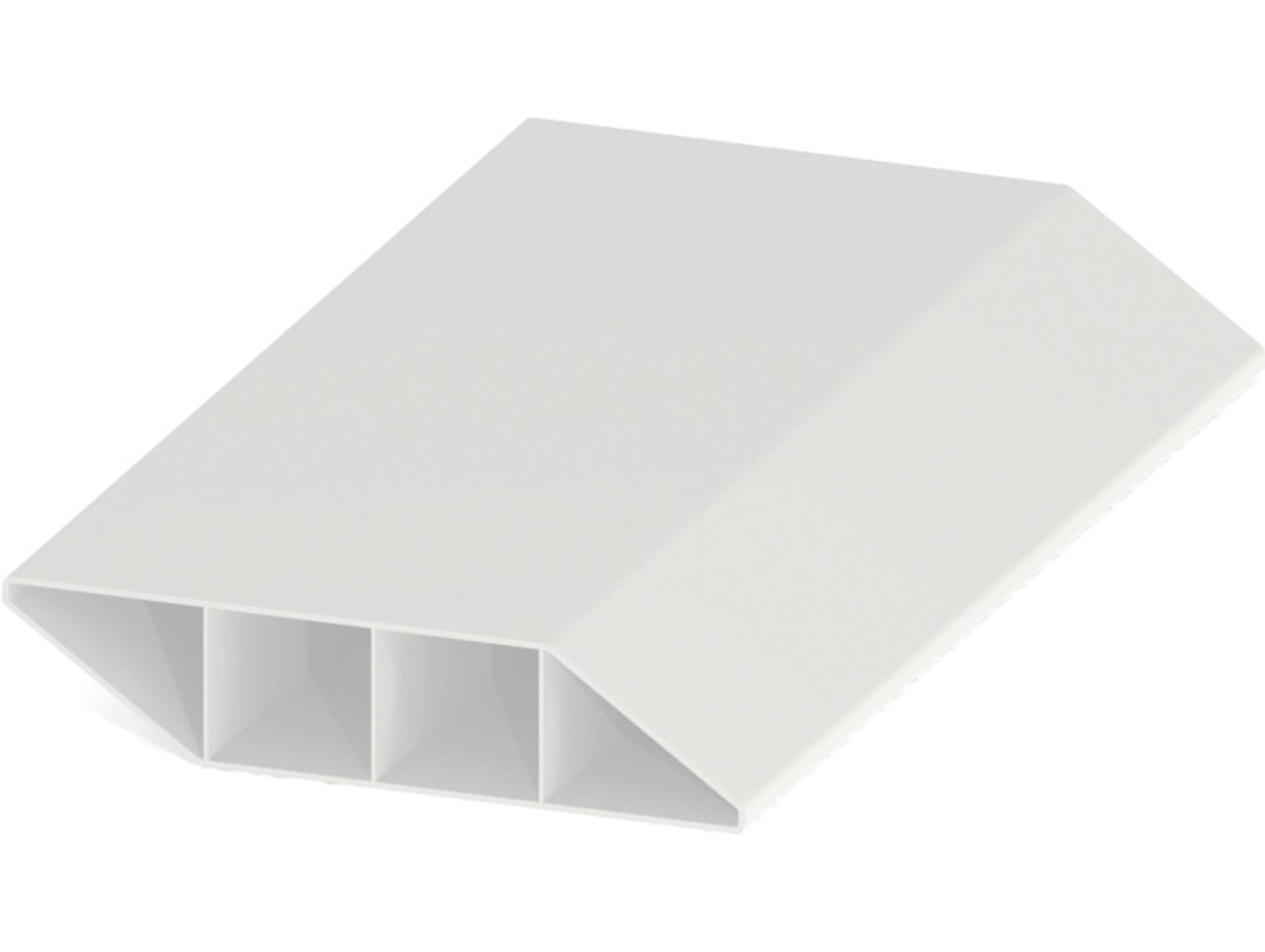 lame brise vue pvc zeneo blanc 1 50m