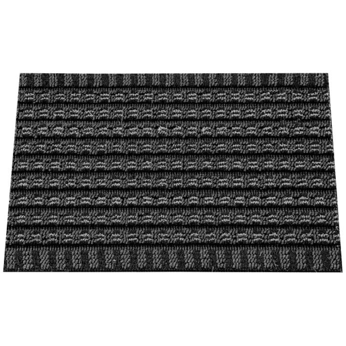 tapis gratte pied solido 40x60cm noir