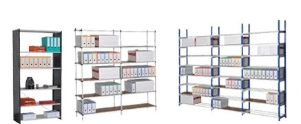rack etagere stockage
