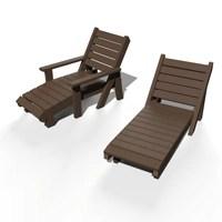 Chaise longue bain de soleil ÉQUATEUR ESPACE URBAIN