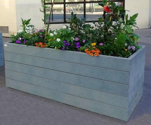 - Jardinières ESPACE rectangulaires ESPACE URBAIN