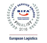 Espace Europe - BIFA Freight Service Awards 2016 Finalist