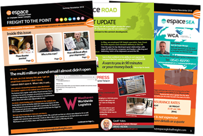 Espace Freight to the Point Newsletter