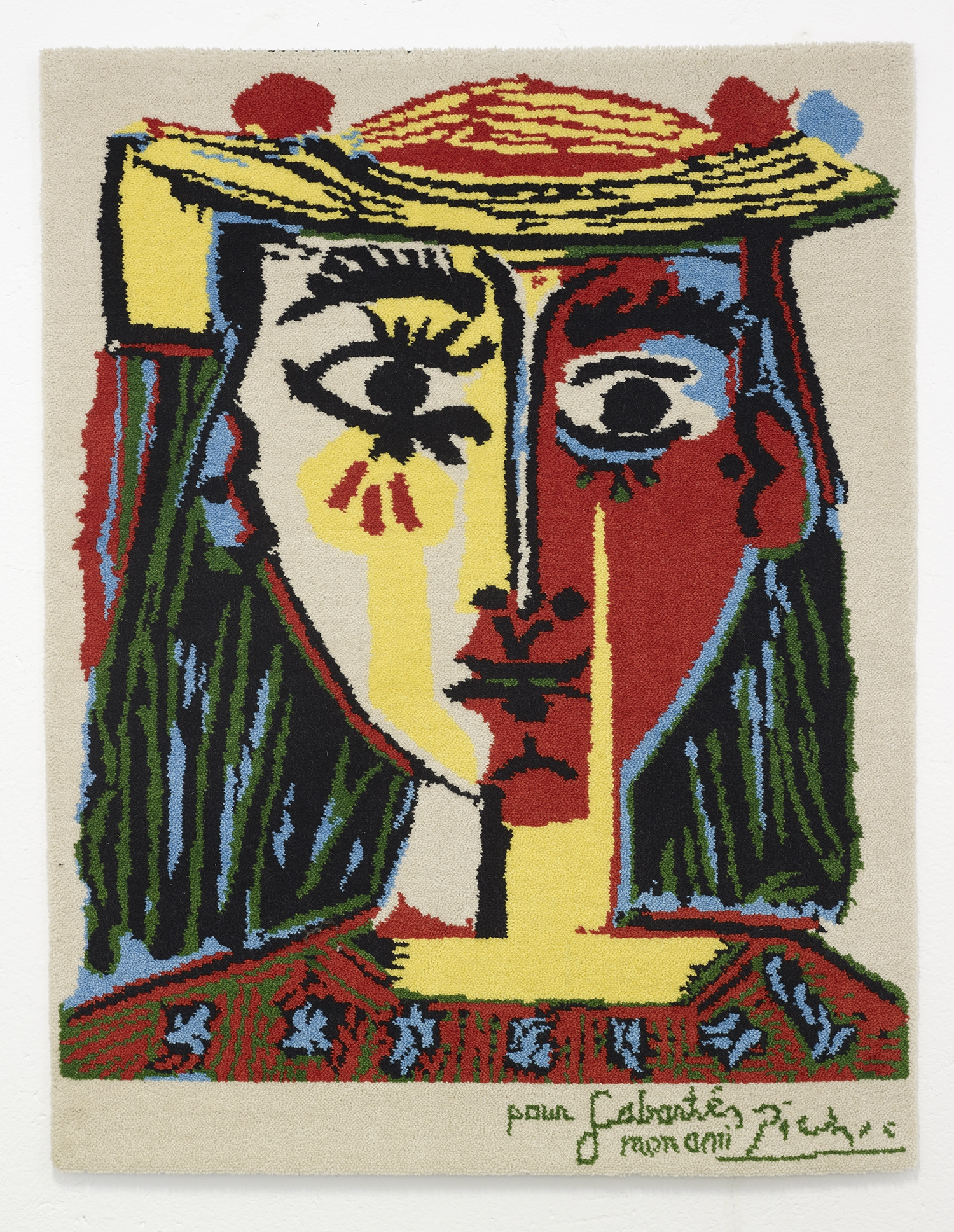 picasso limited edition artist rug