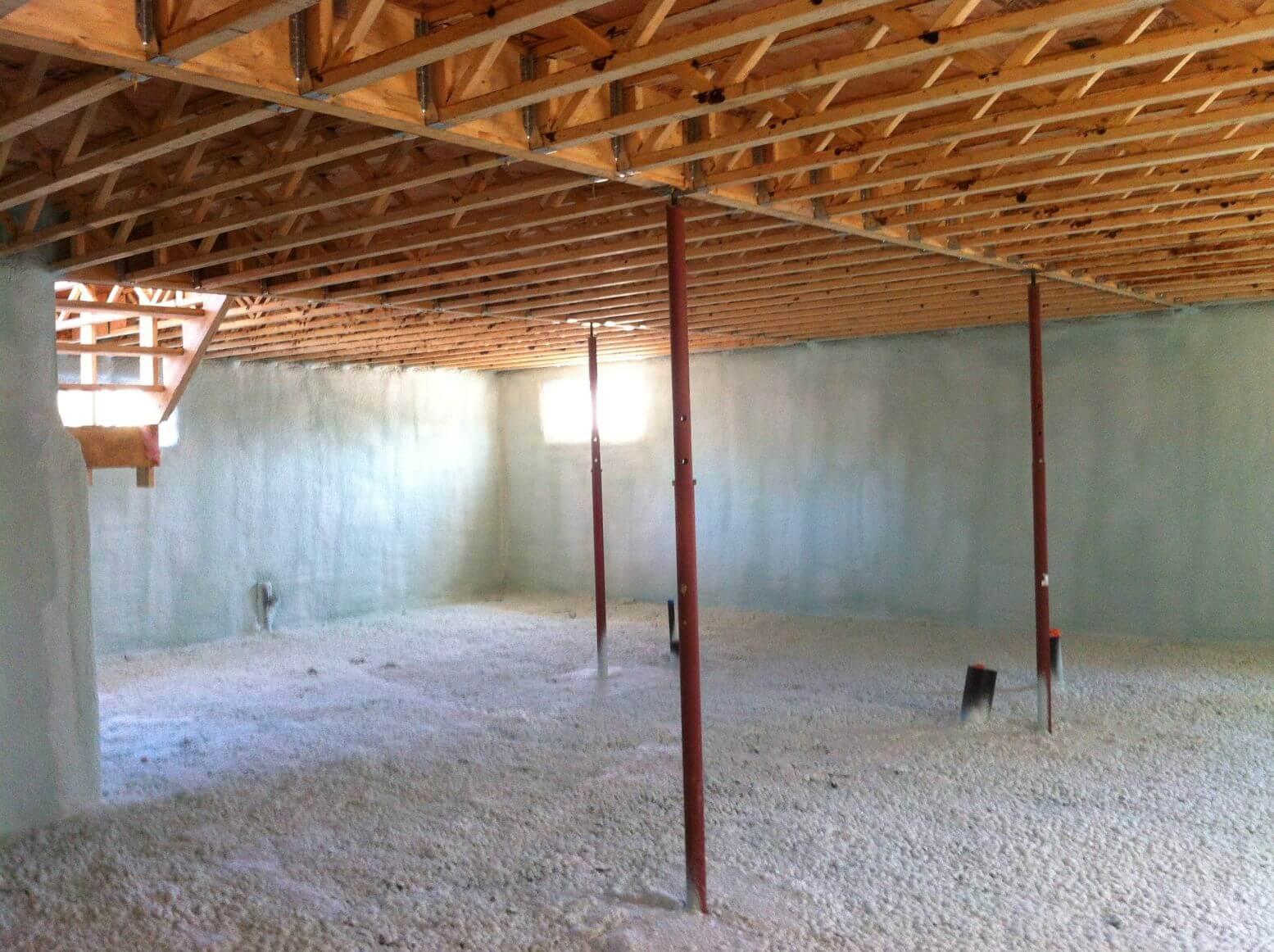 Isolation De Sous Sol Montral Amp Laval Espace RenoVert