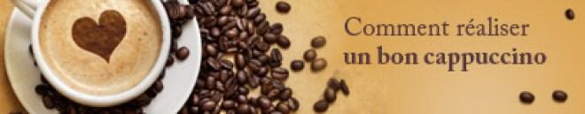 ingrédients pour cappuccino