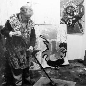 PEPA CASELLES – La Jackson Pollock de la Marina Alta