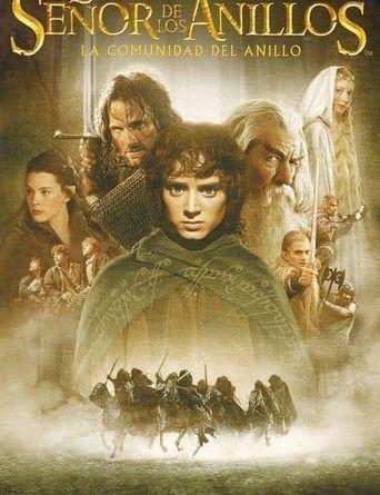 """Portada de la película """"El señor de los anillos: La comunidad del anillo"""""""