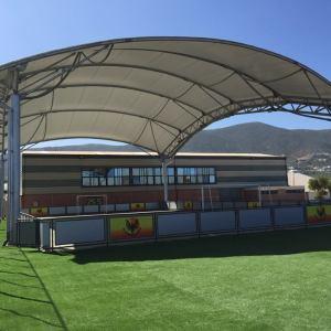 Tensoestructura multicancha Colegio Alemán de la Serena