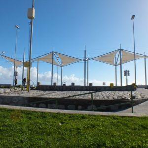 Velas de Sombra Plaza Cubierta Costanera de Penco
