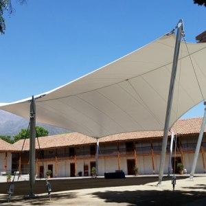 Tensoestructura Conjunto Santa Rosa de Apoquindo