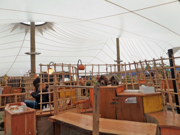 Tensoestructura Feria Artesanal Pucón