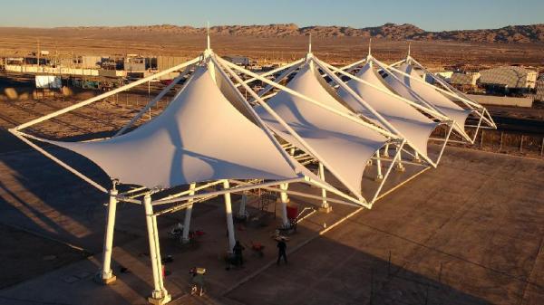 Tensoestructura Terminal Rodoviario de Calama