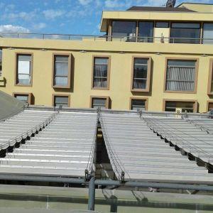 Cubierta protección solar Edificio Portales