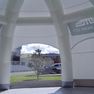 Estructura neumática North Shore Inflatable