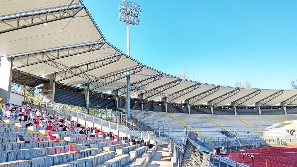 Tensoestructura Estadio Fiscal de Talca