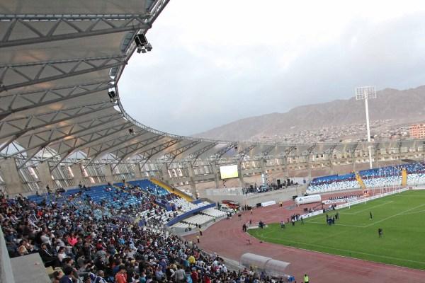 Partido de Inauguración del estadio de Antofagasta