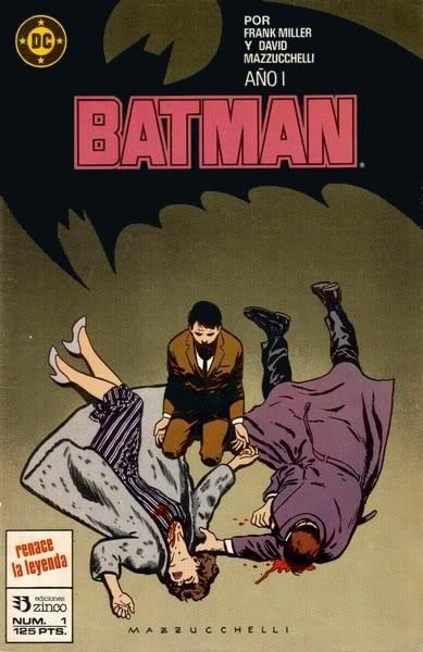 Batman: Año Uno / Frank Miller, editado por Zinco