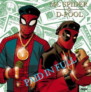 Spiderman/Deadpool Hip-Hop