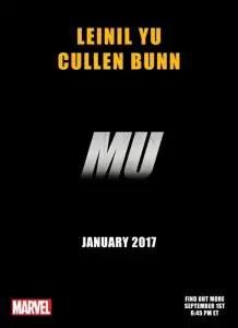 Teaser de MU con Cullen Bunn y Leinil Yu