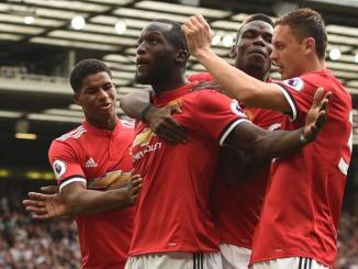 Romelu Lukaku en el Manchester United