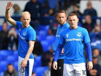 Davy Klaassen no convence en el Everton.