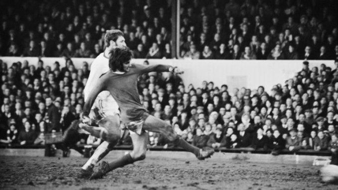 George Best, ídolo del fútbol inglés