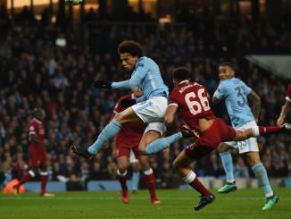 Manchester City y Liverpool se enfrentaron también en Europa