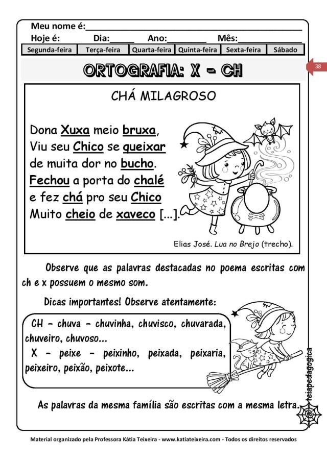 CH-CADERNO-DE-ATIVIDADES-DIGRAFOS-page-038-724x1024 Ortografia X ou CH com interpretação de texto