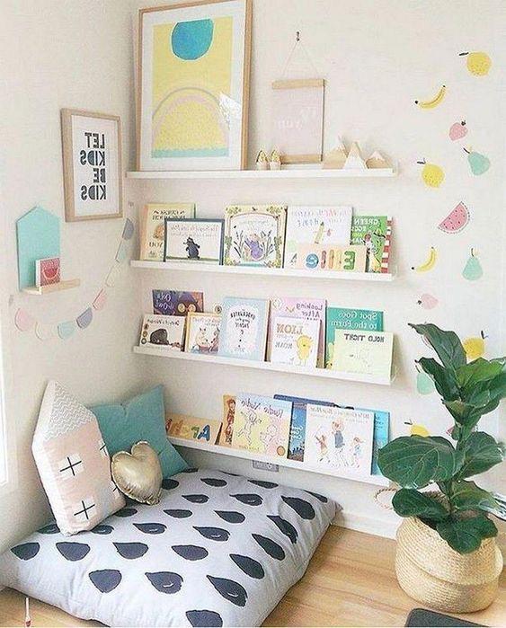 9 30 Sugestões para cantinhos de leitura em casa ou na escola