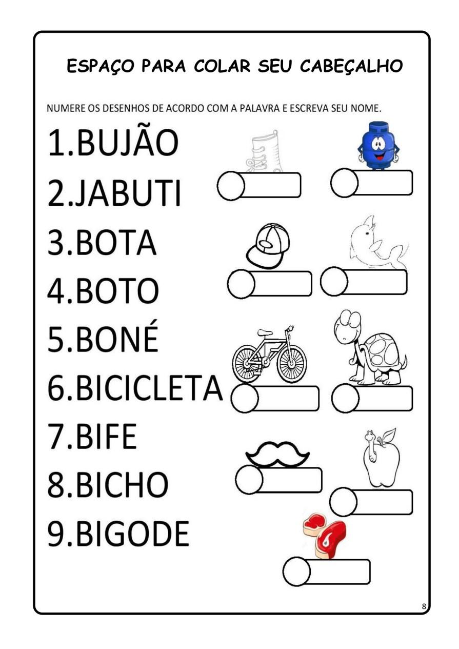 APOSTILA-DE-ALFABETIZAÇÃ-PARA-BAIXAR-08 14 Atividades de alfabetização letra B