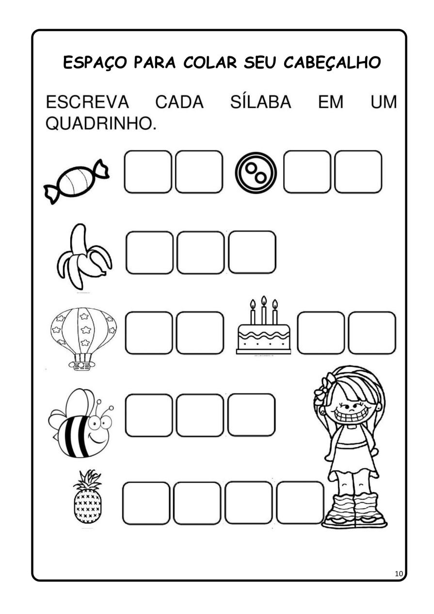 APOSTILA-DE-ALFABETIZAÇÃ-PARA-BAIXAR-10 14 Atividades de alfabetização letra B