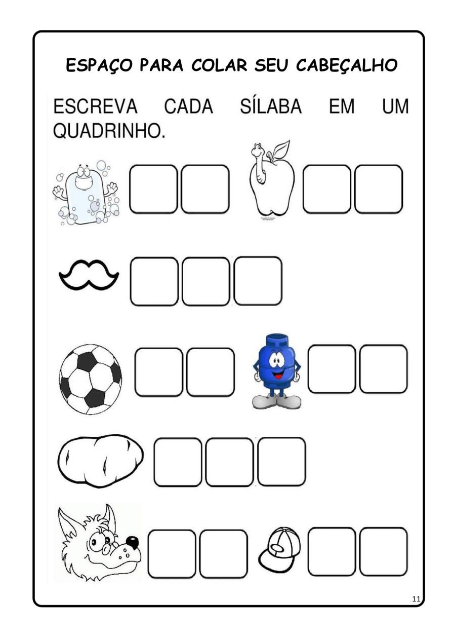 APOSTILA-DE-ALFABETIZAÇÃ-PARA-BAIXAR-11 14 Atividades de alfabetização letra B
