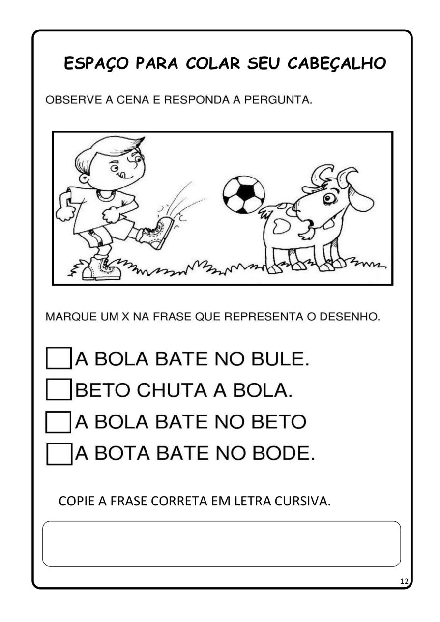 APOSTILA-DE-ALFABETIZAÇÃ-PARA-BAIXAR-12 14 Atividades de alfabetização letra B