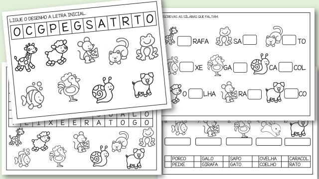 50 atividades de português para 1º ano em pdf