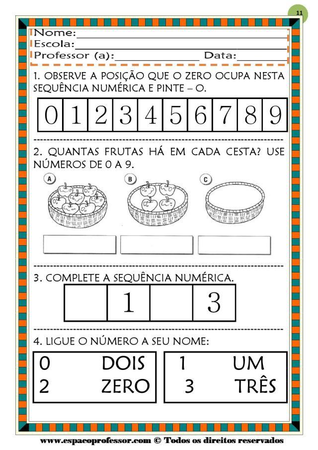CADERNO-1-NUMEROS-DE-0-A-9-page-011 50 atividades de matemática  educação infantil