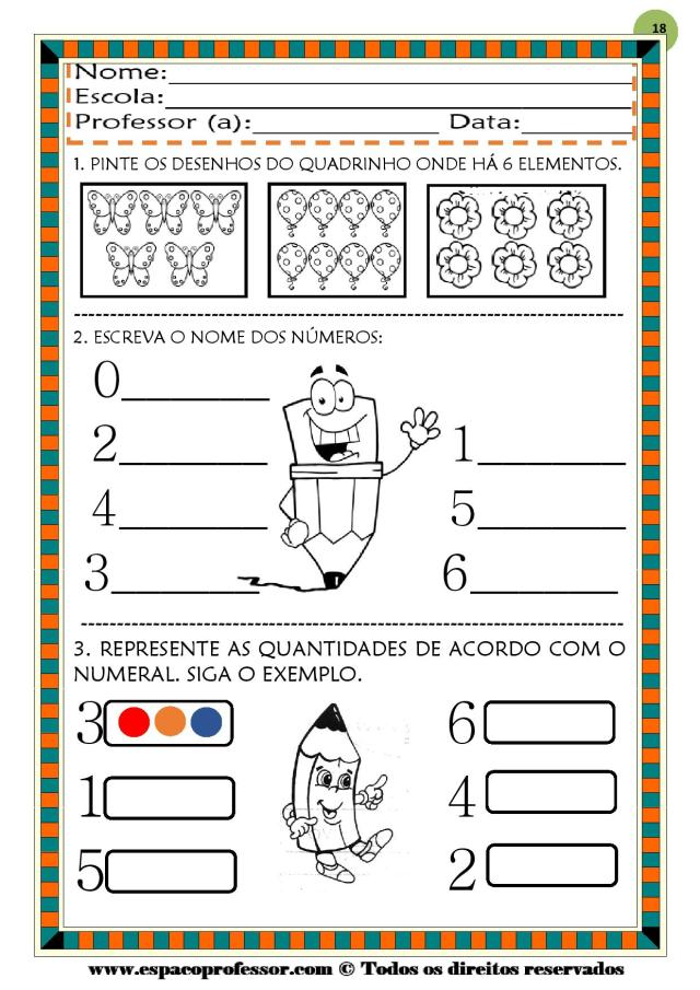 CADERNO-1-NUMEROS-DE-0-A-9-page-018 50 atividades de matemática  educação infantil